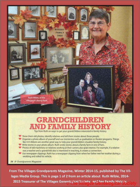 3 - Ruth Wible - Grandparents Magazine Page 1